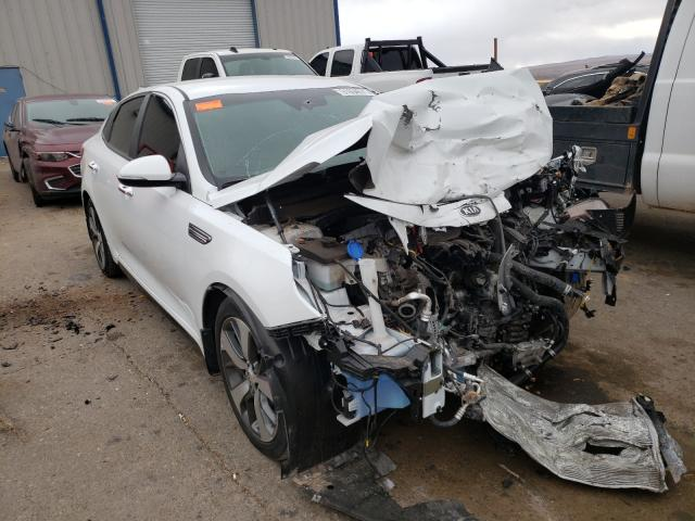 Salvage cars for sale from Copart Albuquerque, NM: 2020 KIA Optima LX