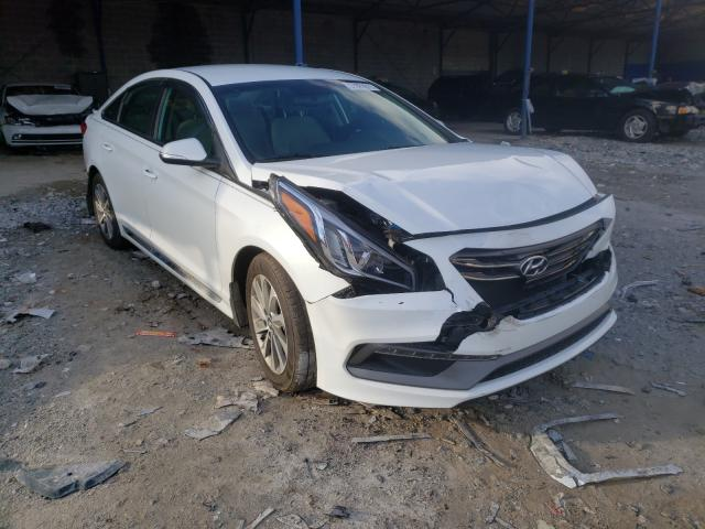 Hyundai Sonata salvage cars for sale: 2017 Hyundai Sonata