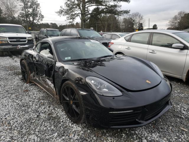 Porsche Cayman salvage cars for sale: 2017 Porsche Cayman