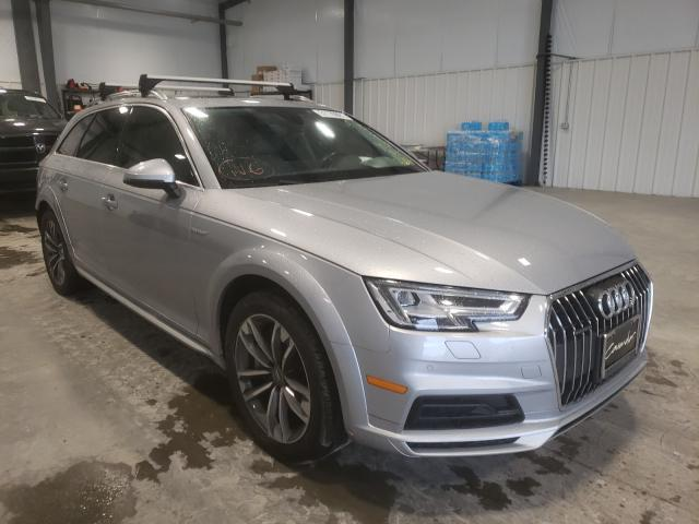Salvage cars for sale at Lumberton, NC auction: 2018 Audi A4 Allroad