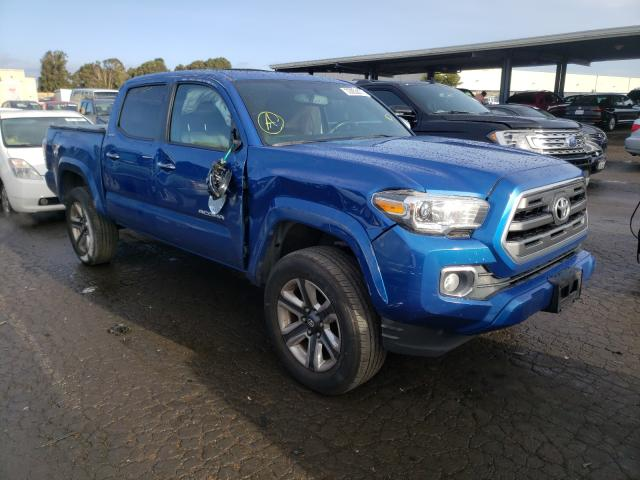 Salvage cars for sale from Copart Hayward, CA: 2016 Toyota Tacoma DOU
