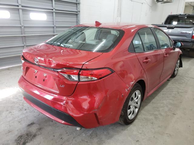 цена в сша 2020 Toyota Corolla Le 1.8L 5YFEPRAE7LP073327