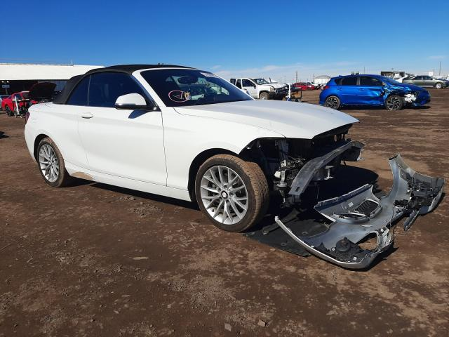 Salvage cars for sale from Copart Phoenix, AZ: 2016 BMW 228 I Sulev