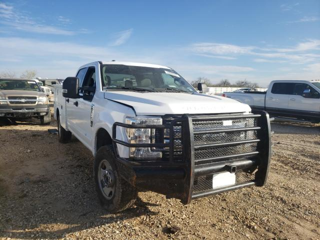 Salvage cars for sale from Copart San Antonio, TX: 2019 Ford F250 Super