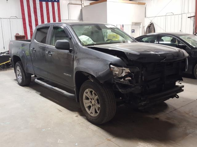 Salvage cars for sale from Copart Billings, MT: 2017 Chevrolet Colorado L