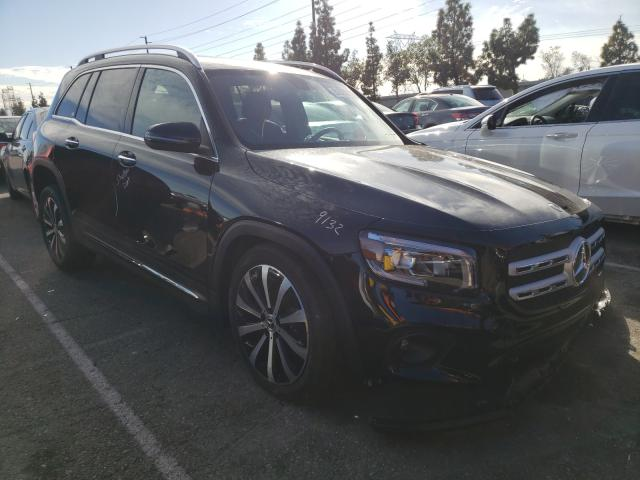 Salvage cars for sale from Copart Rancho Cucamonga, CA: 2021 Mercedes-Benz GLB 250