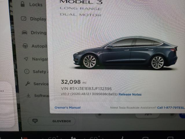 2018 Tesla MODEL 3 | Vin: 5YJ3E1EB3JF132395