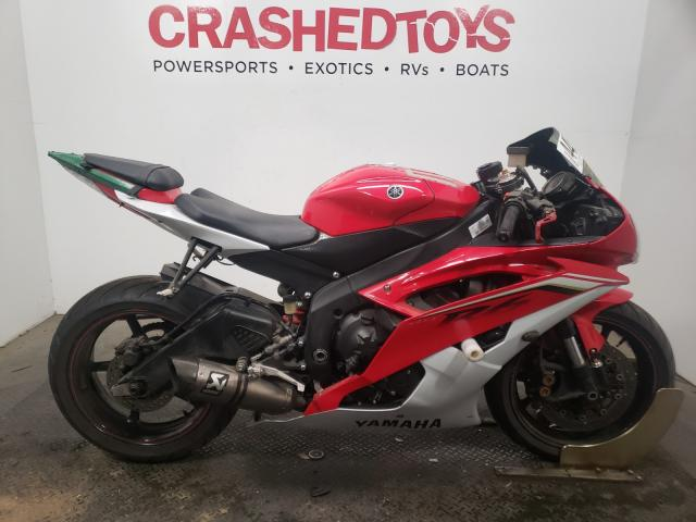 Salvage cars for sale from Copart Sacramento, CA: 2013 Yamaha YZFR6