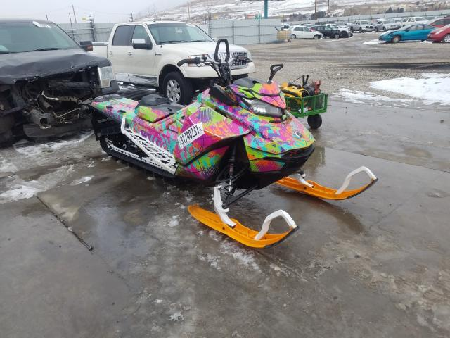 Salvage cars for sale from Copart Farr West, UT: 2017 Skidoo Summit X E