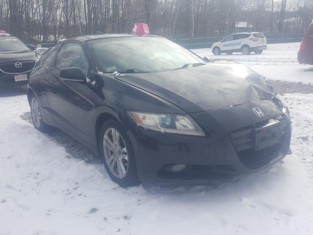 Salvage cars for sale from Copart Candia, NH: 2011 Honda CR-Z EX