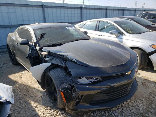 Salvage cars for sale from Copart Haslet, TX: 2017 Chevrolet Camaro LT