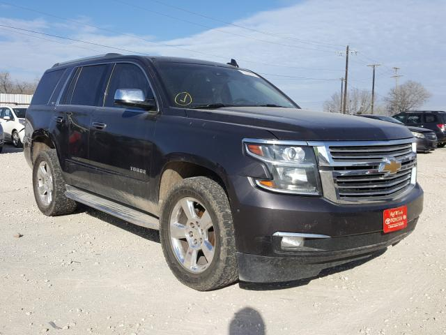 Salvage cars for sale from Copart San Antonio, TX: 2015 Chevrolet Tahoe C150