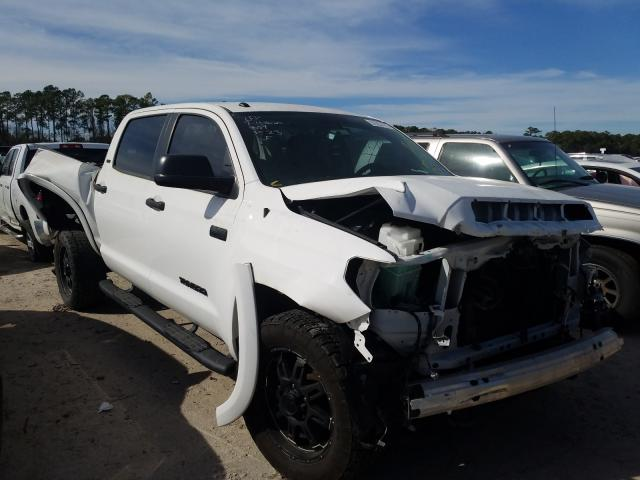 Toyota salvage cars for sale: 2017 Toyota Tundra CRE