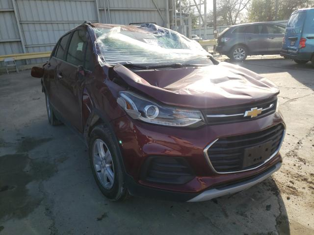 Salvage cars for sale from Copart Corpus Christi, TX: 2017 Chevrolet Trax 1LT