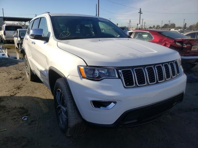 Vehiculos salvage en venta de Copart Los Angeles, CA: 2017 Jeep Grand Cherokee
