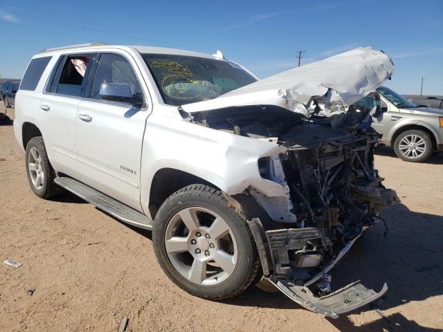 Salvage cars for sale from Copart Andrews, TX: 2017 Chevrolet Tahoe C150