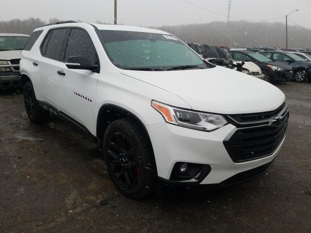 Salvage cars for sale from Copart Lawrenceburg, KY: 2018 Chevrolet Traverse P