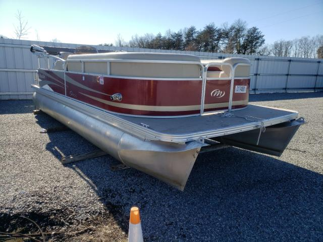 Salvage cars for sale from Copart Fredericksburg, VA: 2012 Manitou Boat