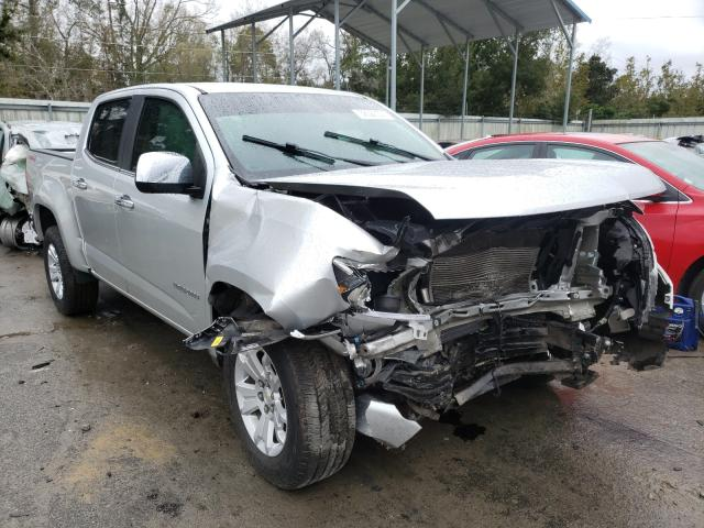 Salvage cars for sale from Copart Savannah, GA: 2017 Chevrolet Colorado L