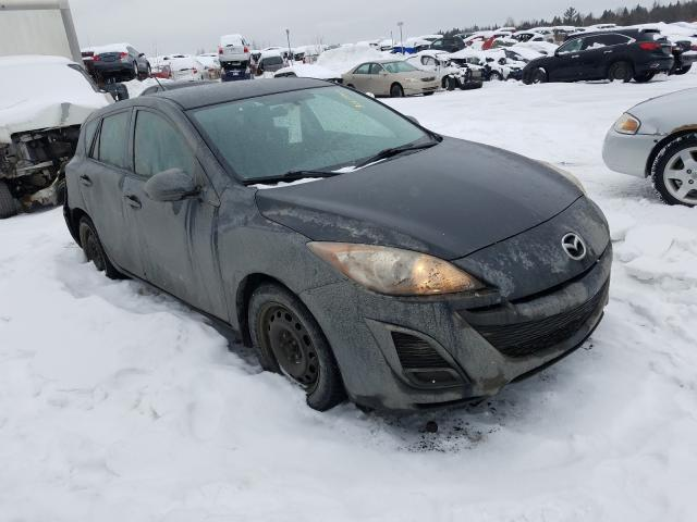 Salvage cars for sale from Copart Montreal Est, QC: 2011 Mazda 3 I
