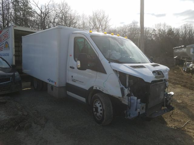 Salvage trucks for sale at Glassboro, NJ auction: 2018 Ford Transit T
