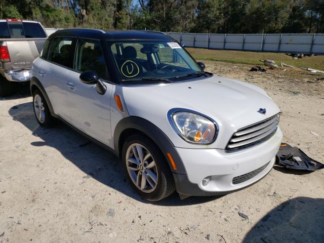 Salvage cars for sale from Copart Ocala, FL: 2014 Mini Cooper COU