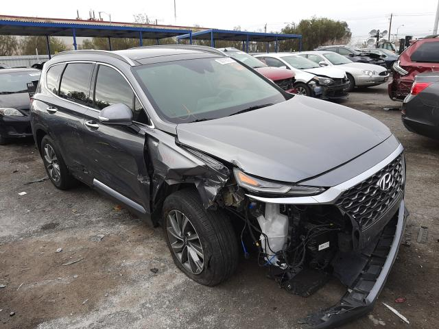Salvage cars for sale from Copart Las Vegas, NV: 2019 Hyundai Santa FE L
