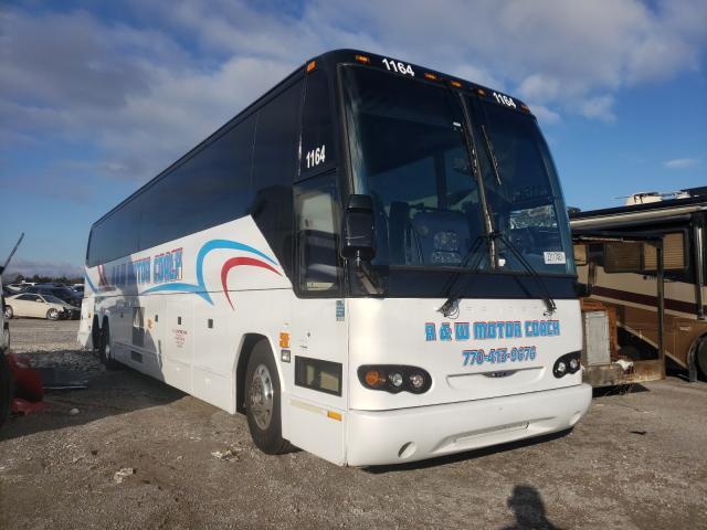 Prevost salvage cars for sale: 2008 Prevost Bus