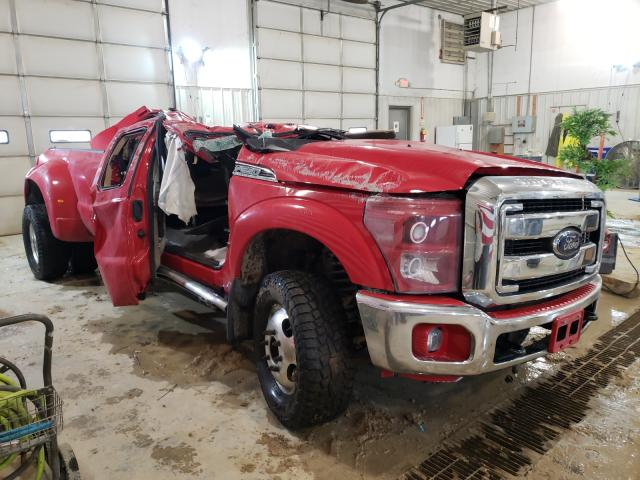 Salvage cars for sale from Copart Columbia, MO: 2013 Ford F350 Super