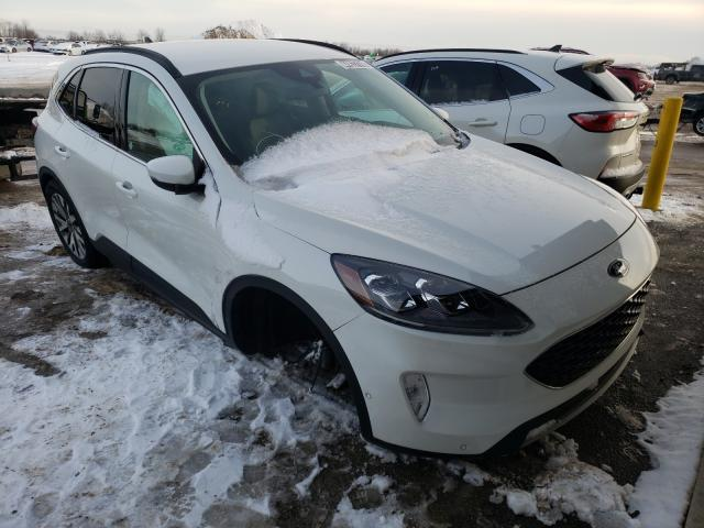 Salvage cars for sale from Copart Elgin, IL: 2020 Ford Escape Titanium