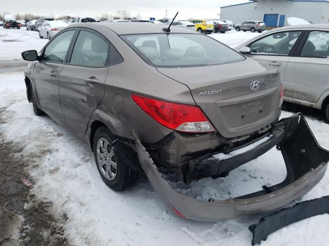 2014 HYUNDAI ACCENT GLS - Right Front View