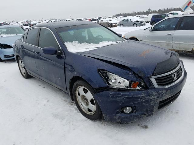 Salvage cars for sale from Copart Montreal Est, QC: 2009 Honda Accord EX