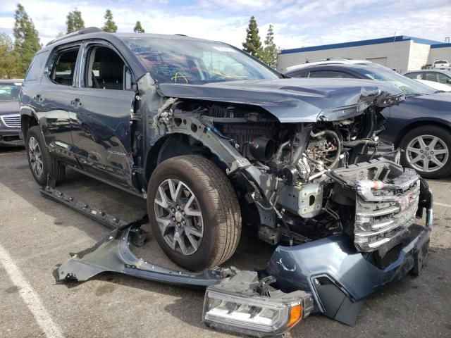 Salvage cars for sale from Copart Rancho Cucamonga, CA: 2020 GMC Acadia SLE