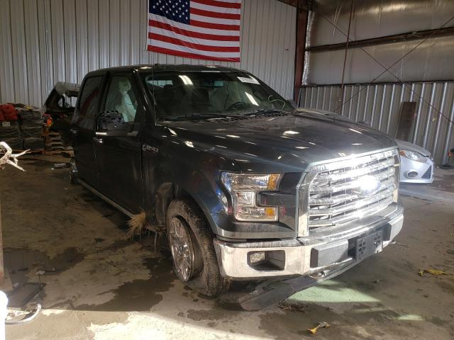 Salvage cars for sale from Copart Appleton, WI: 2015 Ford F150 Super