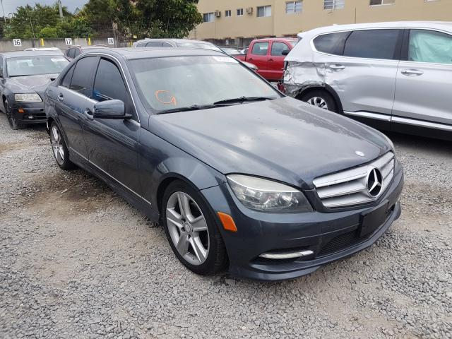Salvage 2011 MERCEDES-BENZ C-CLASS - Small image