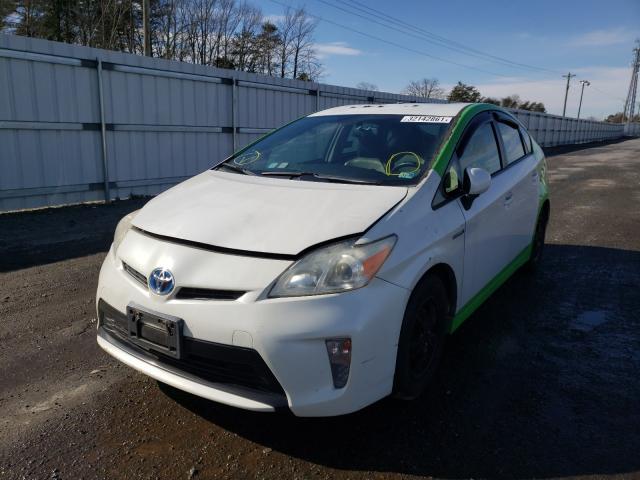 из сша 2012 Toyota Prius 1.8L JTDKN3DU5C5439002