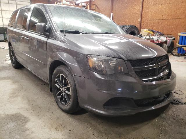 Salvage cars for sale from Copart Ebensburg, PA: 2017 Dodge Grand Caravan