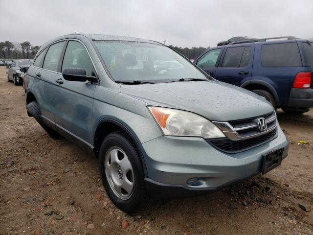 Salvage cars for sale at Brookhaven, NY auction: 2010 Honda CR-V LX