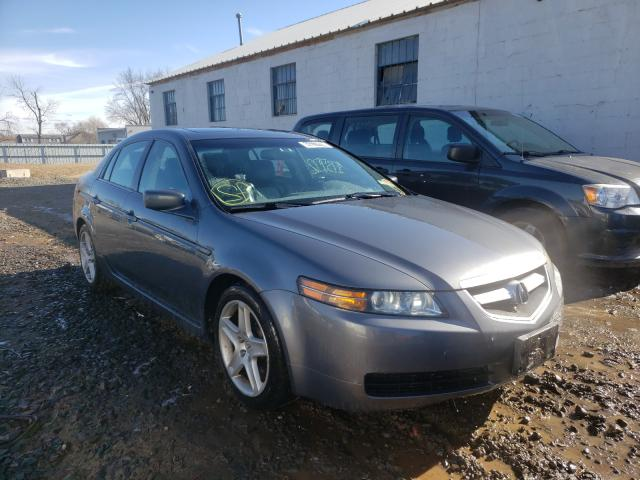 Salvage cars for sale from Copart Hillsborough, NJ: 2005 Acura TL