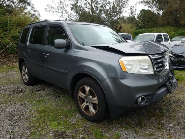 Salvage cars for sale from Copart Kapolei, HI: 2013 Honda Pilot EX
