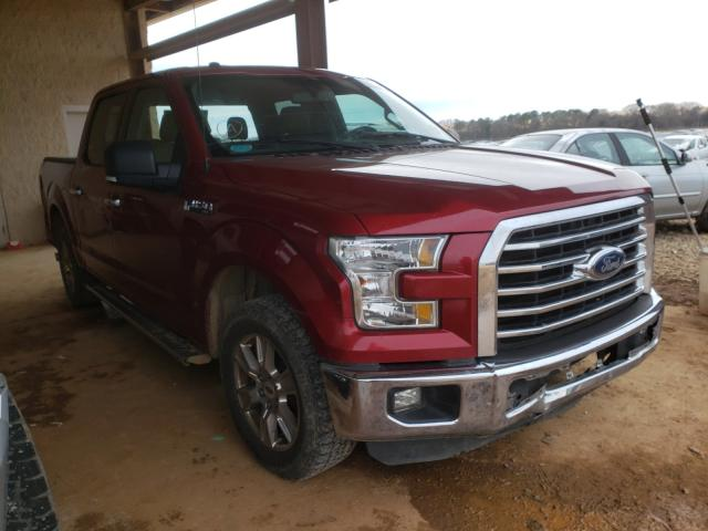 2016 FORD F150 SUPER - Left Front View