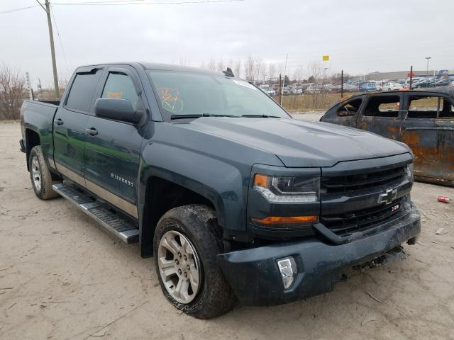 Salvage cars for sale from Copart Indianapolis, IN: 2017 Chevrolet Silverado