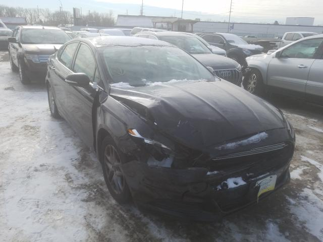 Salvage cars for sale from Copart Hammond, IN: 2013 Ford Fusion SE