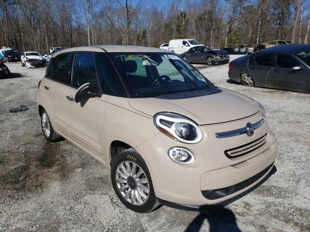 Fiat salvage cars for sale: 2015 Fiat 500L Easy