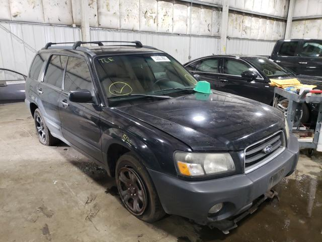 Subaru salvage cars for sale: 2005 Subaru Forester 2