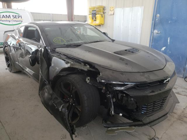 Salvage cars for sale from Copart Homestead, FL: 2021 Chevrolet Camaro SS