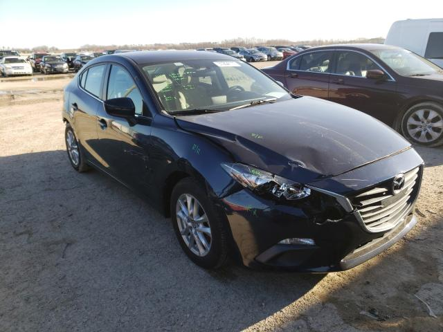 Salvage cars for sale from Copart Temple, TX: 2016 Mazda 3 Sport