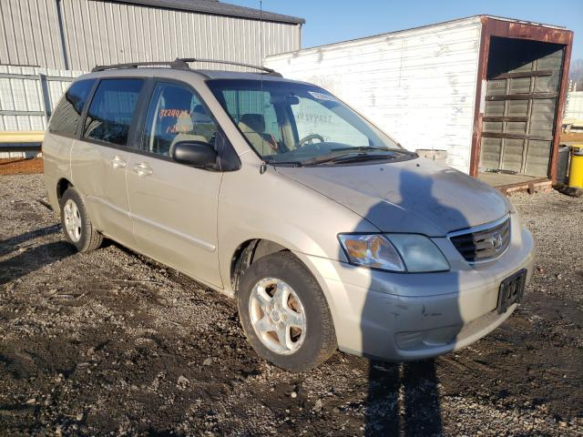 Salvage cars for sale from Copart Chatham, VA: 2001 Mazda MPV Wagon