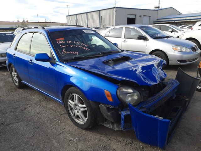 Subaru salvage cars for sale: 2003 Subaru Impreza WR