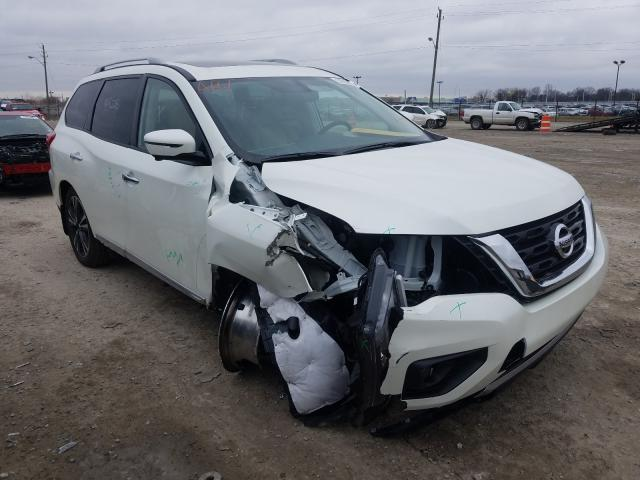 Salvage cars for sale from Copart Indianapolis, IN: 2020 Nissan Pathfinder